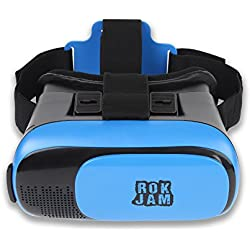 3D VR Headset Technology - Best Virtual Reality Experience For Games & Video - Watch Movies In Breathtaking HD With Your Smartphone Fit Glasses & Helmet - Goggles For Your iPhone & Android Smartphones