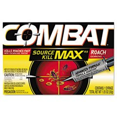 Dial Professional Combat Roach Killing Gel 1 Applicator Per Pack