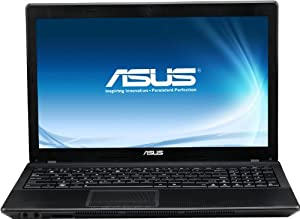 Asus F55A-SX047D 39,6 cm (15,6 Zoll) Notebook (Intel Celeron B820, 1,7GHz, 4GB RAM, 320GB HDD, Intel HD, DVD, DOS)