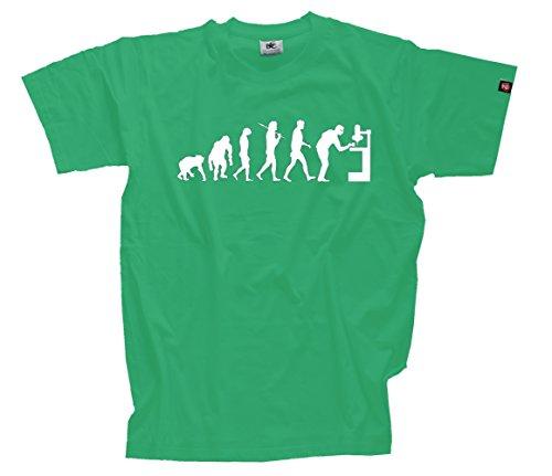 T-Shirt-Kelly-XXL-Dreher-Zerspaner-Bohrer-Drehmaschine-Maschinist-Evolution