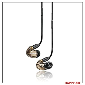 Shure SE535 In-Ear Sound Isolating Earphones - Bronze