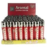 AFC Arsenal Football Club Genuine Refillable Clipper Lighter One Supplied