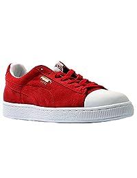 Puma Boys-Big Kids Suede Rubber Toe Casual Sneakers