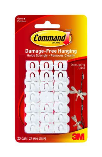 Command Decorating Clips, 20-Clip front-359706