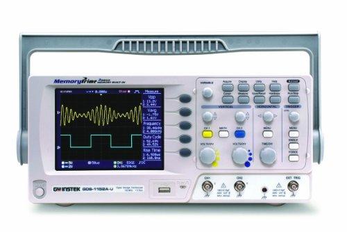 "Gw Instek Gds-1072A-U 5.7"" Lcd Color Display Digital Storage Oscilloscope With Usb Port, 70Mhz Bandwidth, 2-Channel, 5Ns Rise Time"