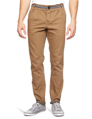 Bellfield MTRS-11216 Slim Men's Trousers Taupe W36INxL32IN