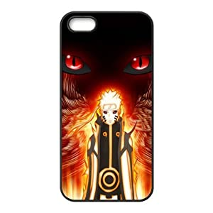 Japanese Anime Naruto Series Naruto Uzumaki for Iphone5 Leather Rubber Cover Case-Creative New Life
