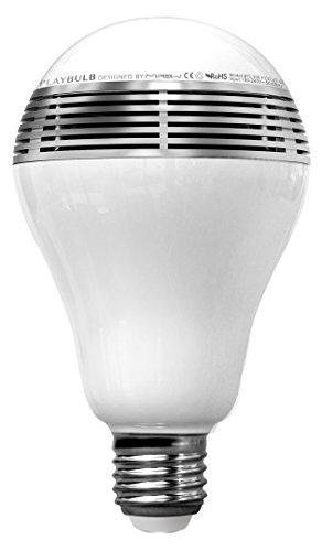MiPow BTL100-SR-WW Smart Bluetooth LED-Lautsprecher (3 Watt, E27 Sockel) mit integriertem Playbulb f�r Apple iPhone/Android Ger�t