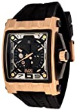 ELINI Watches:Men's Captain Automatic Black Silicone