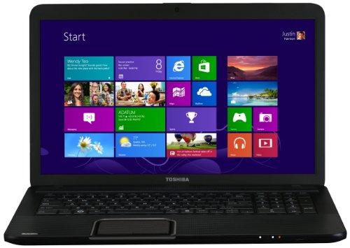 Toshiba Satellite C870-1H2 17.3-inch Notebook (Intel Core i3-3120M 2.50GHz, 4GB RAM, 500GB HDD, Windows 8, USB 3.0)