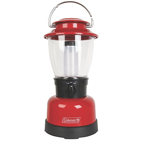 Coleman-Carabineer-Classic-Personal-Size-LED-Lantern-Red