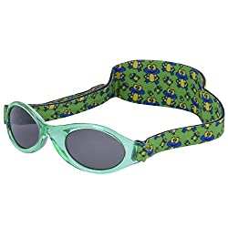 Real Kids Shades MFS Kids Sunglasses Green Frogs 0-24 Months, 024GRNFROGS