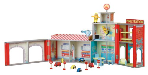plum-ingham-fire-station-wooden-play-set-with-accessories
