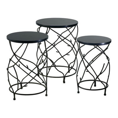 Cyan Design Branch Drum Accent Tables (Set of 3)