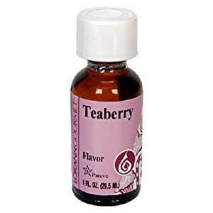 LorAnn Artificial Flavoring Oils, Teaberry Falvoring Oil, 1-Ounce Bottles (Pack of 4)