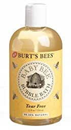 Burt\'s Bees Baby Bee Bubble Bath,Tear free, 12-Ounce Bottles (Pack of 3)