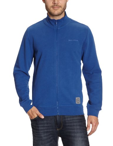 Marc O'Polo Men's 227 4030 57010 Sweatshirt Blue (821 Limoges) 46