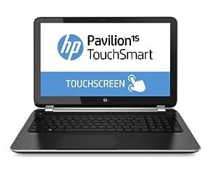 HP Pavilion TouchSmart 15-n024sa 15.6-inch Laptop (AMD Quad-Core A8-4555M, 1.6GHz Processor, 4GB DDR3 RAM, 1TB HDD, Radeon HD 7600G, Integrated Webcam, DVD-RAM, Windows 8)