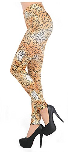 Sexy Classic Tiger Leopard Animal Print Footless Leggings