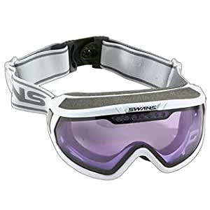 SWANS - 845DH Skibrille für Brillenträger weiss