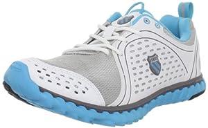 K-Swiss Blade Foot Run, Chaussures de running femme - Argent-TR-J1-5, 37.5 EU (4.5 UK)