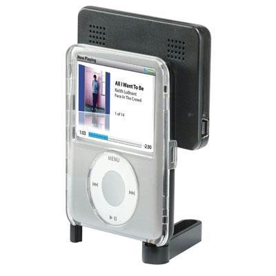 iHome iHM20 Pocket Stereo System for iPod nano 3G (Black) чехол для ipod nano 3g