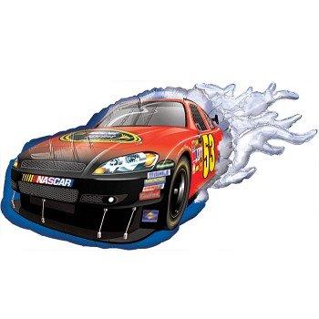 "Speedy Red Nascar Vehicle 36"" Mylar Balloon"