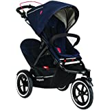 Phil&Teds Sport Buggy with Double Kit, Midnight