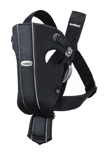 Review BABYBJORN Baby Carrier Original, Black, Cotton