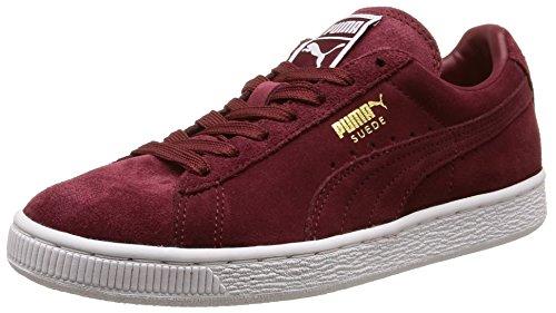 Puma - Classic, Sneaker Uomo, Rouge (Cabernet/White/Team Gold), 43