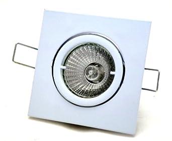 220V // EEK A Alu 1-10er Set IP20 Druckguss SMD Power LED Decken Einbauspots