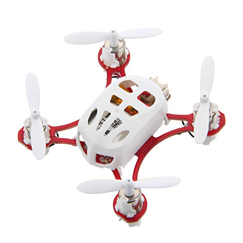 Cheerson Cx-11 Mini 4Ch 2.4Ghz Rc Led Quadcopter With 6 Axis Gyro White