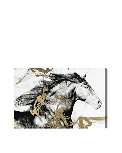 Oliver Gal Gold And Black Beauty Canvas Art