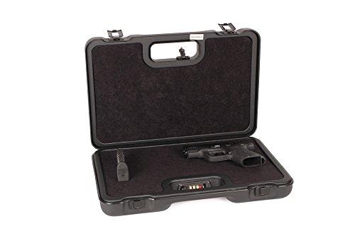 Negrini Cases 2023UTS/4839 Handgun Case (1 Gun), Black/Black (Negrini Gun Cases compare prices)