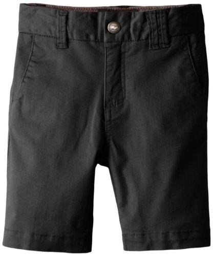 Billabong Little Boys' Kids New Order Shorts, Charcoal, 4S front-867268