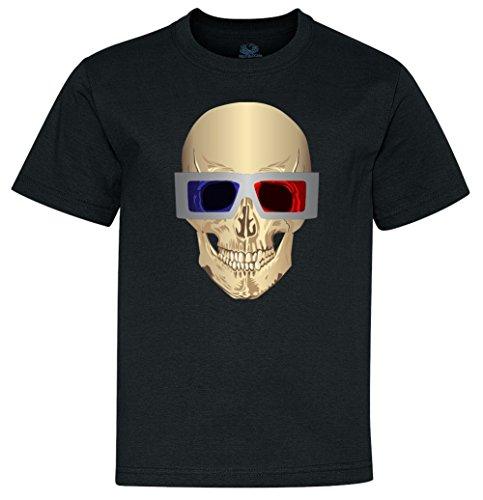 Skull 3D Glasses Youth T-Shirt