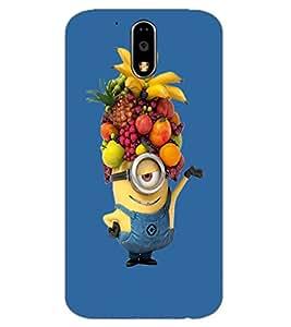 Axes Premium Designer Back Cover for Motorola Moto G4 Play (-d680
