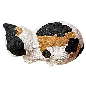 Sandicast Calico Snoozer Cat Figurine