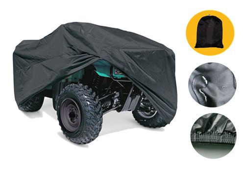 ATV-Cover-Durable-Universal-Water-Proof-Black-Quad-Bike-4x4-Four-Wheeler-Storage-XABTV