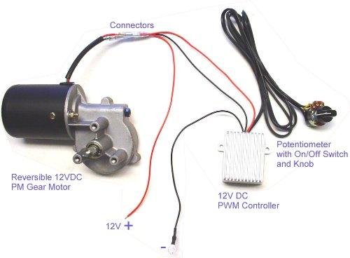 Buy Now Wondermotor Variable Speed Electric Gear Motor