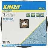 Kinzo 71770 Disque en métal 230 mm 3 pièces