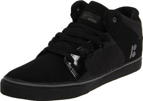 Etnies Men's Sheckler 5 X Plan B,Black/Silver,10.5 D US