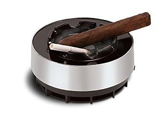 Smokeless Ashtray Sucks & Filters Cigar Cigarette Smoke Into Ashtray Smart Wr...