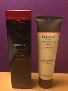 Laura Geller Spackle Tinted Under Make-Up Primer In CHAMPAGNE, 3.3 oz JUMBO size