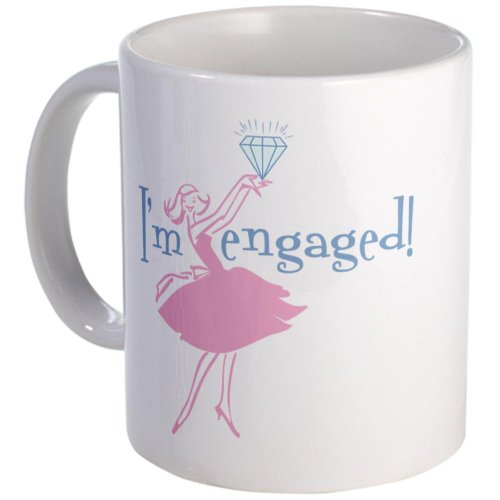 Retro Engaged Mug Mug By Cafepress