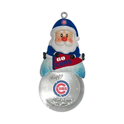 MLB Chicago Cubs Snow Globe Ornament