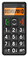 JUST5 J509 Easy to Use Unlocked Cell Phone with Big Buttons, Amplified Sound, Personal Emergency…