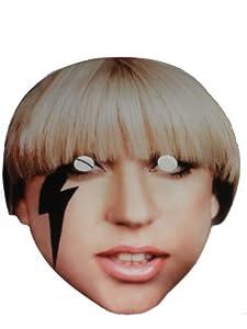 Lady Gaga Celebrity Party Mask - Single