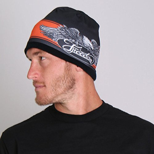 hot-leathers-freedom-eagle-soft-cotton-with-bright-sublimated-design-snug-fit-beanie-black