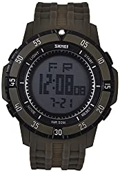 Skmei Calendar Digital Multi Color Dial Mens Watch - (HMWA05S058C0)
